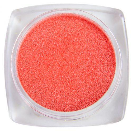 Komilfo бархатный песок 010 (коралловый неон), 2,5 грамма