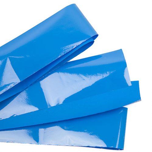 Komilfo фольга для кракелюра, голубая, матовая