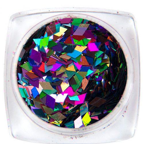 Komilfo Ромбы 2 мм (цветной микс), 1,5 г