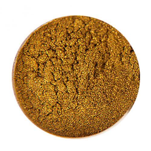 Komilfo пигмент кошачий глаз (магнитный) золотой (1,5 г)