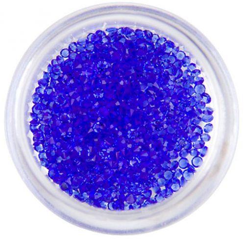 Komilfo хрустальная крошка 1 мм, цвет Cobalt — Crystal Pixie копии, 1 г