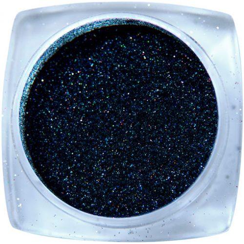 Komilfo блесточки 001, размер 1, (черные, голограмма), 2,5 г
