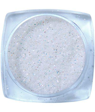 Komilfo блесточки 023, размер 2, (белые, разноцветные), 2,5 г