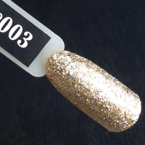 Komilfo Glam Gel Gold №003, 5 мл