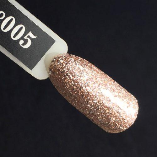 Komilfo Glam Gel Pink №005, 5 мл