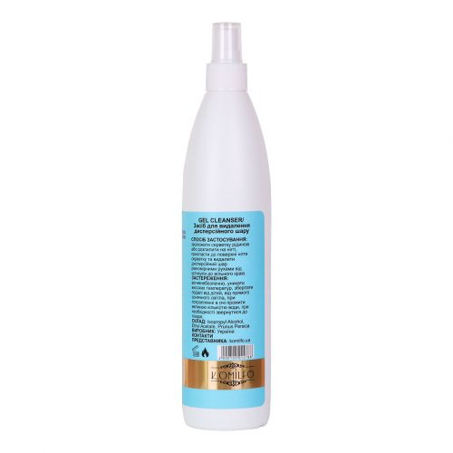 Komilfo Gel Cleanser — средство для снятия липкого слоя, 500 мл