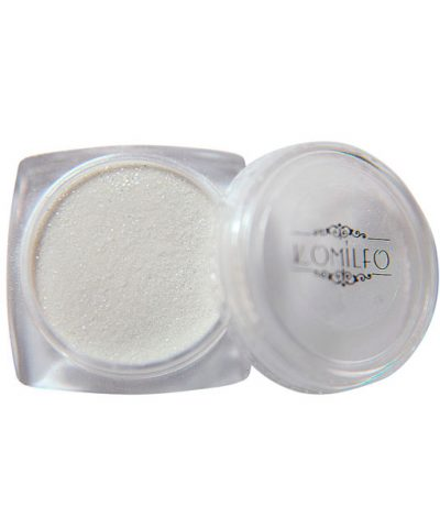 Акриловая пудра Komilfo 002 Silver Glitter, 3 г