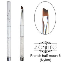 Кисть Komilfo French half-moon 6 (Nylon)
