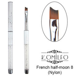 Кисть Komilfo French half-moon 8 (Nylon)