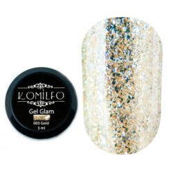Komilfo Glam Gel Gold №003, 5 мл
