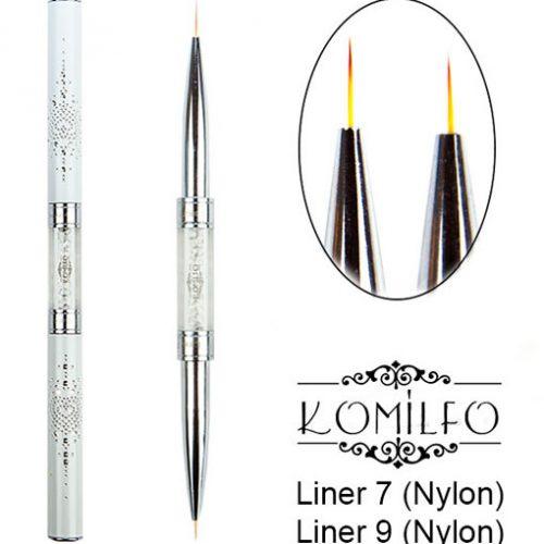 Кисть Komilfo Double Liner 7 (Nylon)/Liner 9 (Nylon)