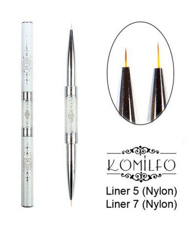 Кисть Komilfo Double Liner 5 (Nylon)/Liner 7 (Nylon)