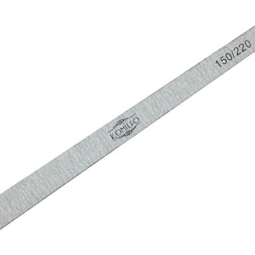 Пилочка Komilfo деревянная капля 150/220, 16,5 см
