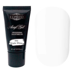 Komilfo Acryl Gel №002 Bright White, 60 г