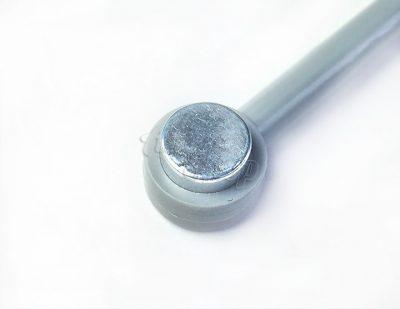 Komilfo магнит для гель-лака «Кошачий глаз», неодимовый, двухсторонний