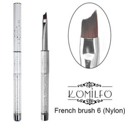 Кисть Komilfo French brush 6 (Nylon)
