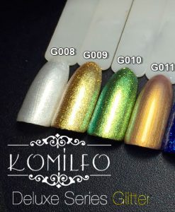 "Гель-лаки Komilfo ""Deluxe Series Color Gel Polish Glitter"""