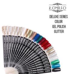"Гель-лаки Komilfo ""Deluxe Series Color Gel Polish Glitter"""