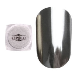 Komilfo Mirror Powder №001, срібло, 0,5 г