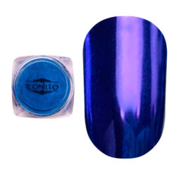 Komilfo Mirror Powder №005, синій, 0,5 г