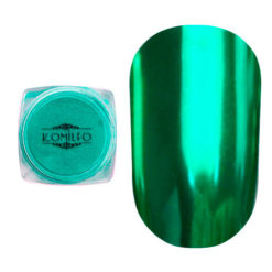 Komilfo Mirror Powder №011, зелений, 0,5 г