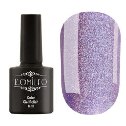 Гель-лак Komilfo №GEM004 (purple holographic), 8 мл