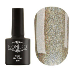 Гель-лак Komilfo №GEM012 (lime holographic), 8 мл