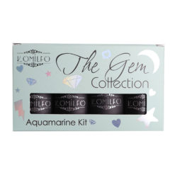 Набір Komilfo The Gem Collection Aquamarine Kit (sea wave), №017, 018, 019, 020