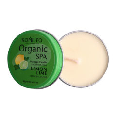 Komilfo Massage Candle – Lemon Lime, 30 g