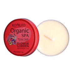 Komilfo Massage Candle – Flower Garden, 30 g