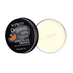 Komilfo Massage Candle – Chocolate Orange, 30 g