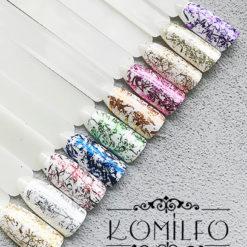 Komilfo Foil Stripes