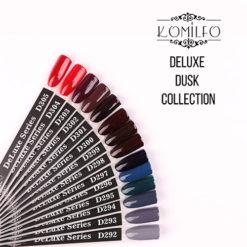 Гель-лаки Komilfo Deluxe Dusk Collection - Fall 2018 Collection