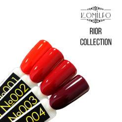 Гель-лаки Komilfo Rior Collection